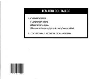 1 Taller Julcán - Posterior