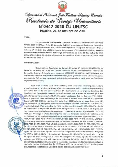 RCU_0447_2020_CU_exp_2020_024474_aprobar_adenda_convenio_auspicio_insterinstitucional_entre_institucio_nuevo_horizonte_UNJFSC_page-0001